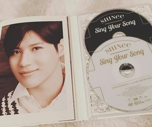 cd, white, and sing your song image