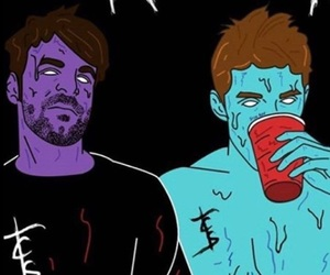 edit, sick boy, and the chainsmokers image