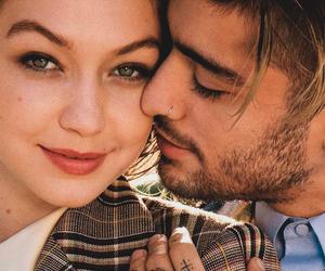couple, model, and zayn image