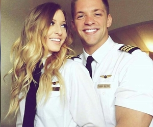 fly, pilot, and cabin crew image