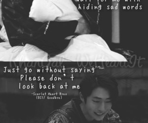 couple, korean, and quotes image