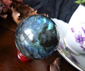 labradorite, witchy, and wicca image