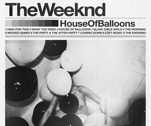 the weeknd, house of balloons, and music image