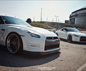 nissan, sports car, and gtr image