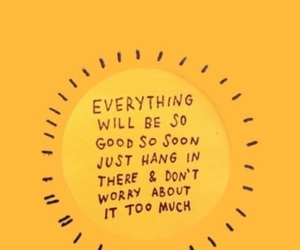 quotes, yellow, and motivation image