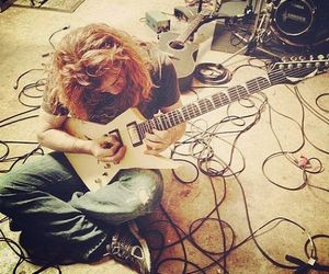 dave mustaine, megadeth, and rock image