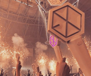 aesthetic, concert, and exo image