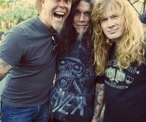 metallica, megadeth, and dave mustaine image