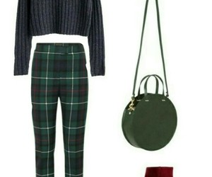 bag, green, and Polyvore image