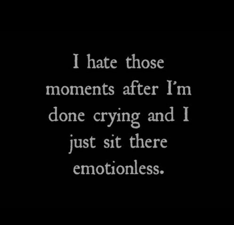 crying, emotionless, and sad image