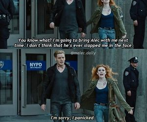 clace, funny, and clary fray image