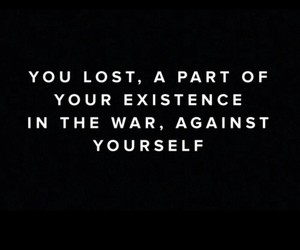 Existence, lost, and quote image