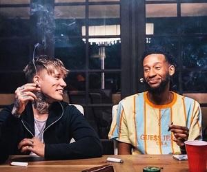 bad boys, hit, and smoking image