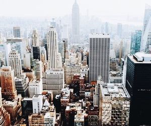 new york, travel, and city image