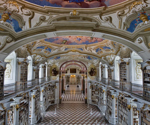 austria, library, and admont library image
