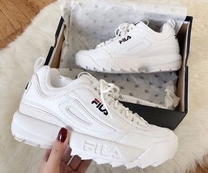 Fila, shoes, and sport image
