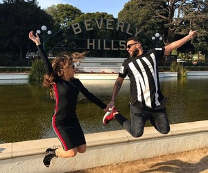 Beverly Hills, couple, and goal image