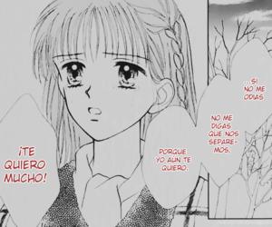 anime, español, and couple image