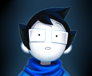 homestuck and john egbert image