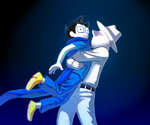 homestuck, dad, and john egbert image