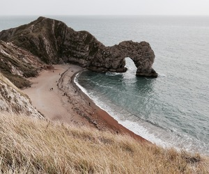 beach, wanderlust, and cliffs image