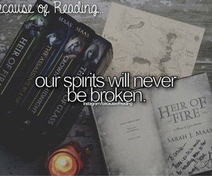 spirit and because of reading... image