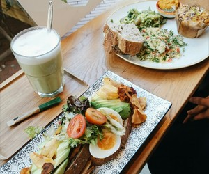 fitness, food, and foodie image