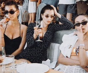 model, bella hadid, and girls image