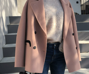 fashion, outfit, and coat image