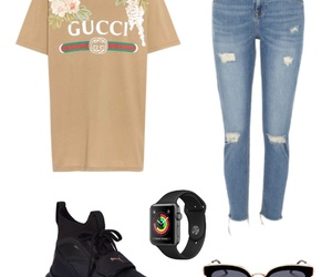 apple, gucci, and outfits image