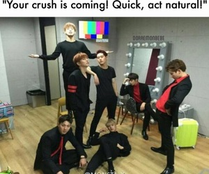 funny, handsome, and kpop image
