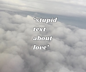 clouds, lovelove, and love image