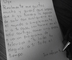 love, frases, and pareja image