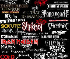 music, bands, and rock image