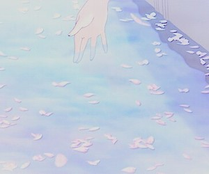 aesthetic, anime, and nature image