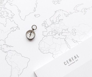 white, map, and travel image