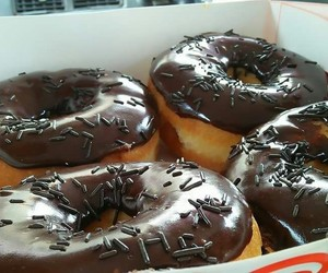 chocolate, daily, and donuts image