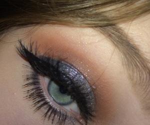 anastasia, blue eyeshadow, and eyeshadow image