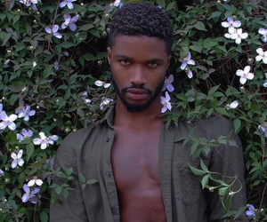boy, model, and black men image