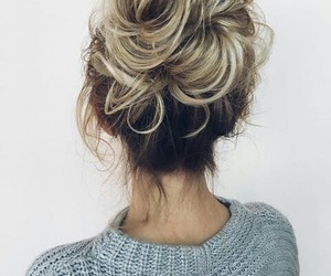 beauty, bun, and done image