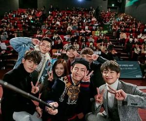 taehyung, minho, and hwarang image