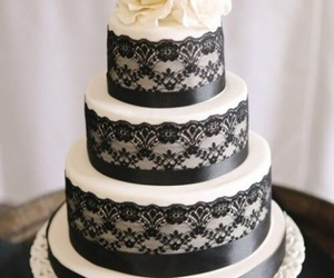 black & white, food, and wedding image