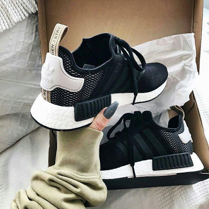shoes black tumblr tumblrshoes white in 2020 | Adidas shoes