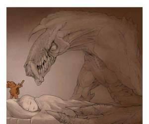 beautiful, protect, and sleep image