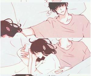 cute, sleep, and anime image