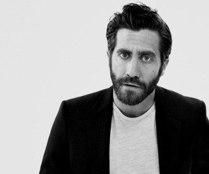 actor, black and white, and jake gyllenhaal image