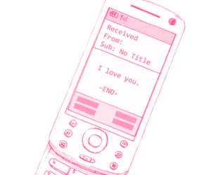 anime, pink, and png image