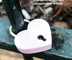 amor, pink, and candados image
