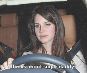 lana del rey, sugar daddy, and daddy image