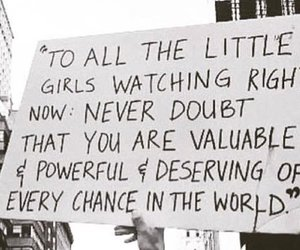 girl power, march, and 2018 image